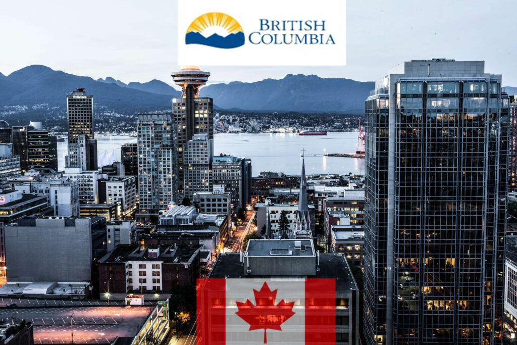 Canada British Columbia jobs